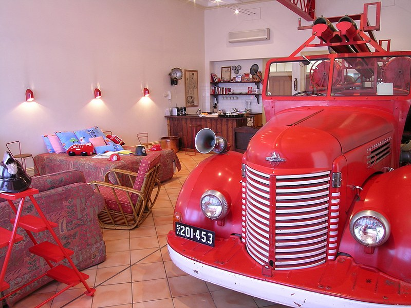 The Fire Station Inn - Fire Engine Suite - Port Augusta Accommodation