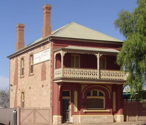 Savings Bank of South Australia - Old Quorn Branch - Port Augusta Accommodation