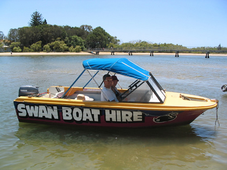 Swan Boat Hire - Port Augusta Accommodation
