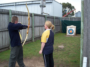 Bairnsdale Archery Mini Golf  Games Park - Port Augusta Accommodation