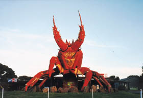The Big Lobster - Port Augusta Accommodation