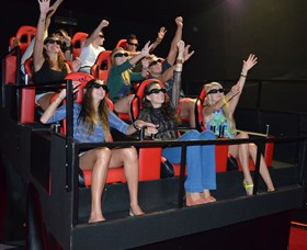 7D Cinema - Virtual Reality - Port Augusta Accommodation