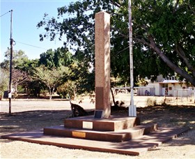 Mount Isa Memorial Cenotaph - Port Augusta Accommodation