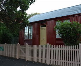 19th Century Portable Iron Houses - Port Augusta Accommodation