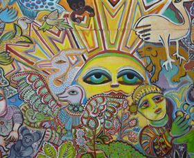 The Painting of Life by Mirka Mora - Port Augusta Accommodation