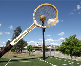 Barellans Big Tennis Racquet - Port Augusta Accommodation
