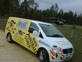 Splat Attack Paintball  Laser Tag Games - Port Augusta Accommodation