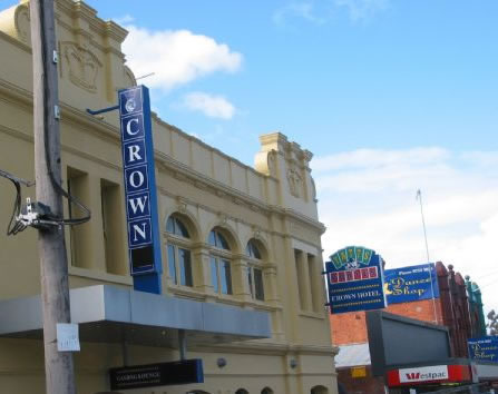 Crown Hotel Lilydale - Port Augusta Accommodation