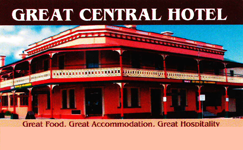 Great Central Hotel - Port Augusta Accommodation