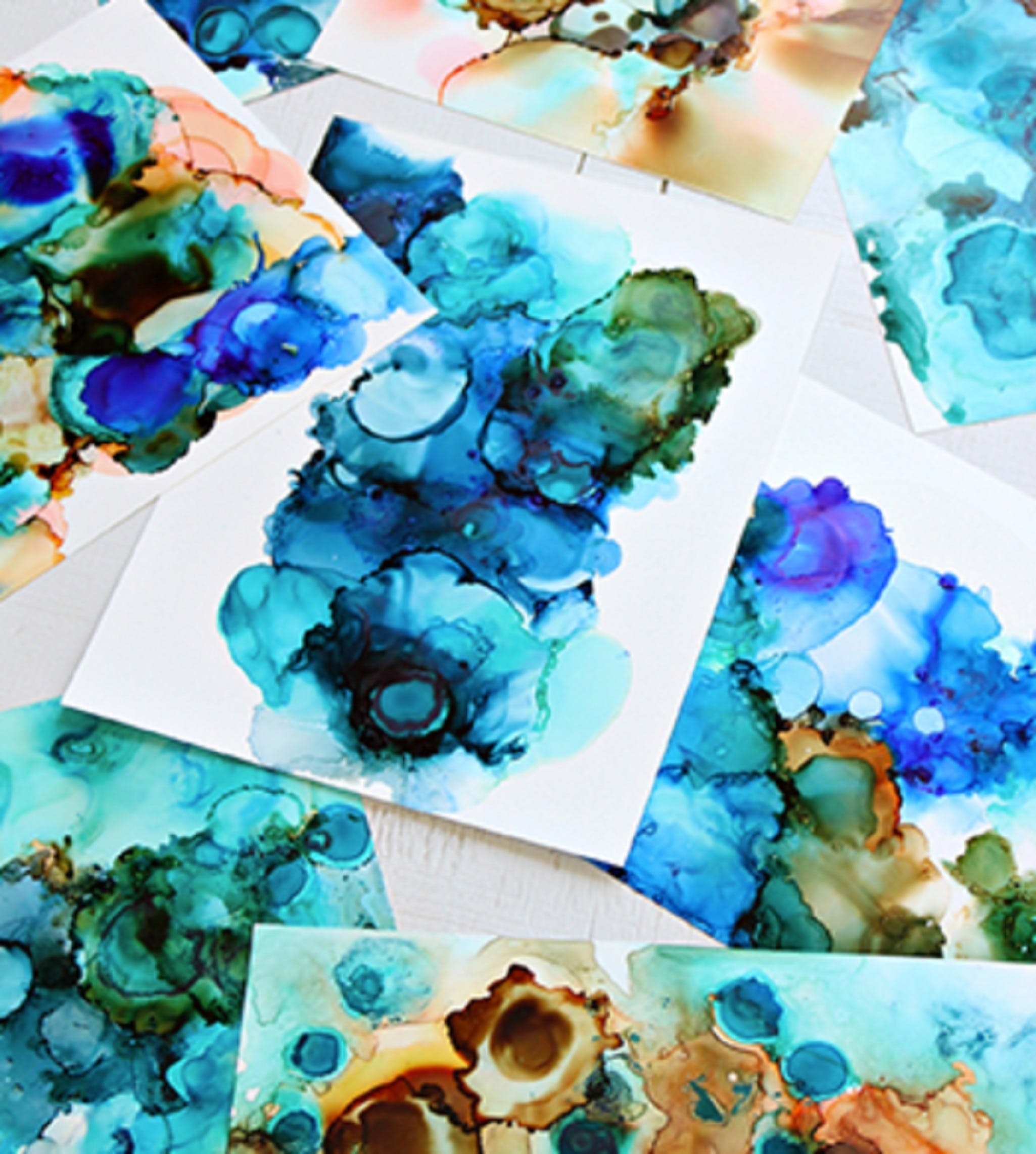 Alcohol Ink Art Class - Port Augusta Accommodation