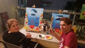 Paint and Sip Social Art Classes 2 for 1 - Port Augusta Accommodation