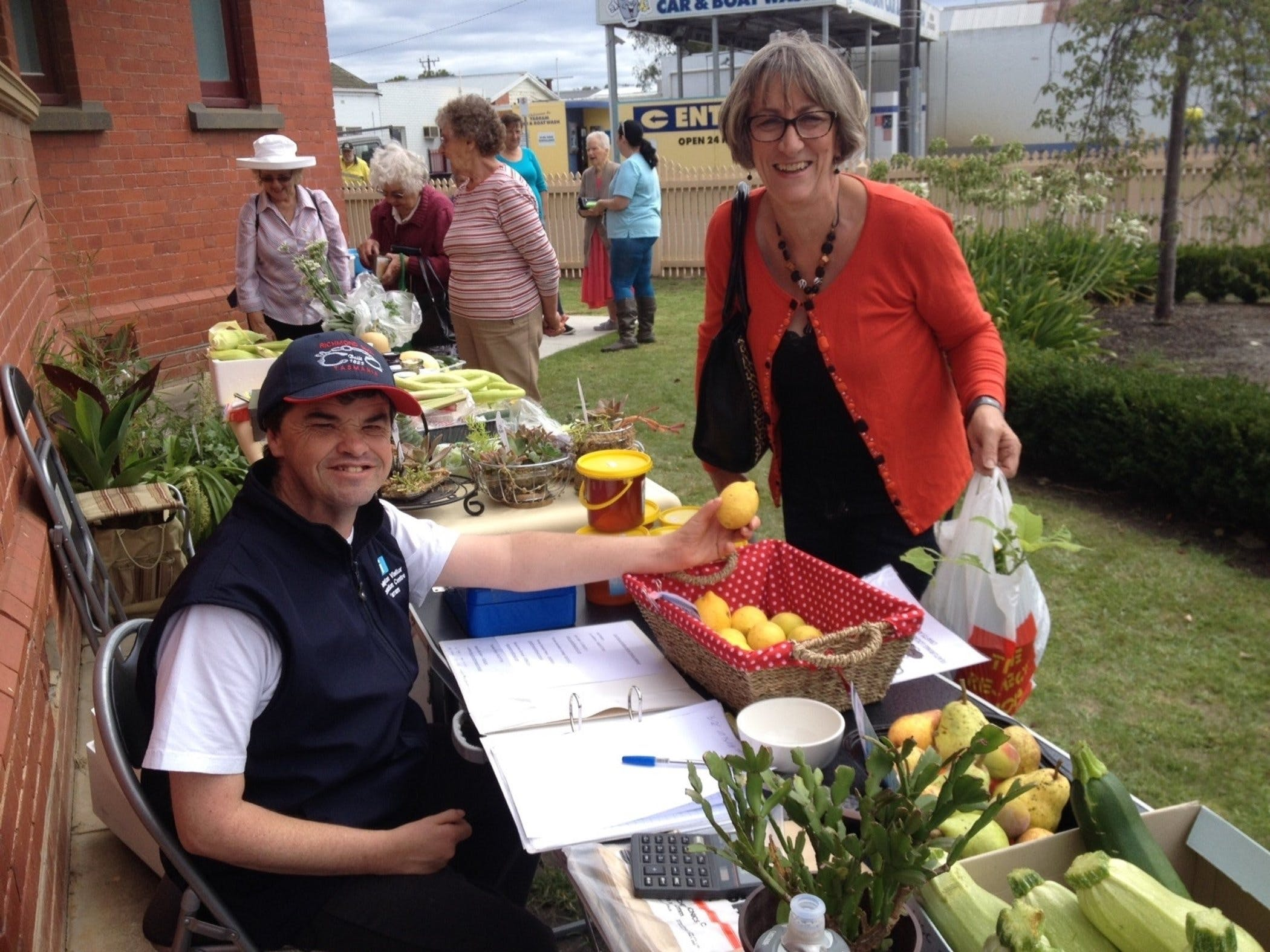 Yarram Courthouse Garden Produce Market - Port Augusta Accommodation