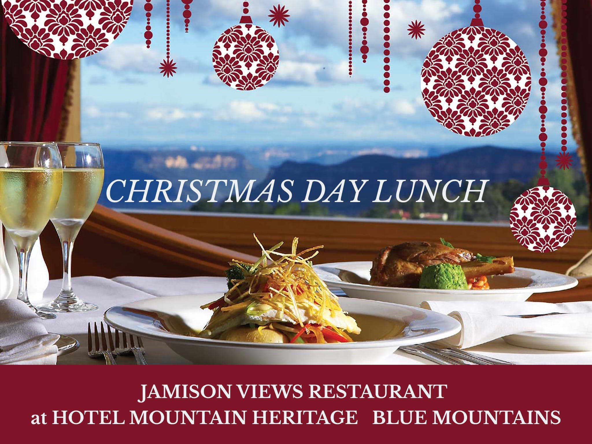 Christmas Day Lunch Hotel Mountain Heritage - Port Augusta Accommodation