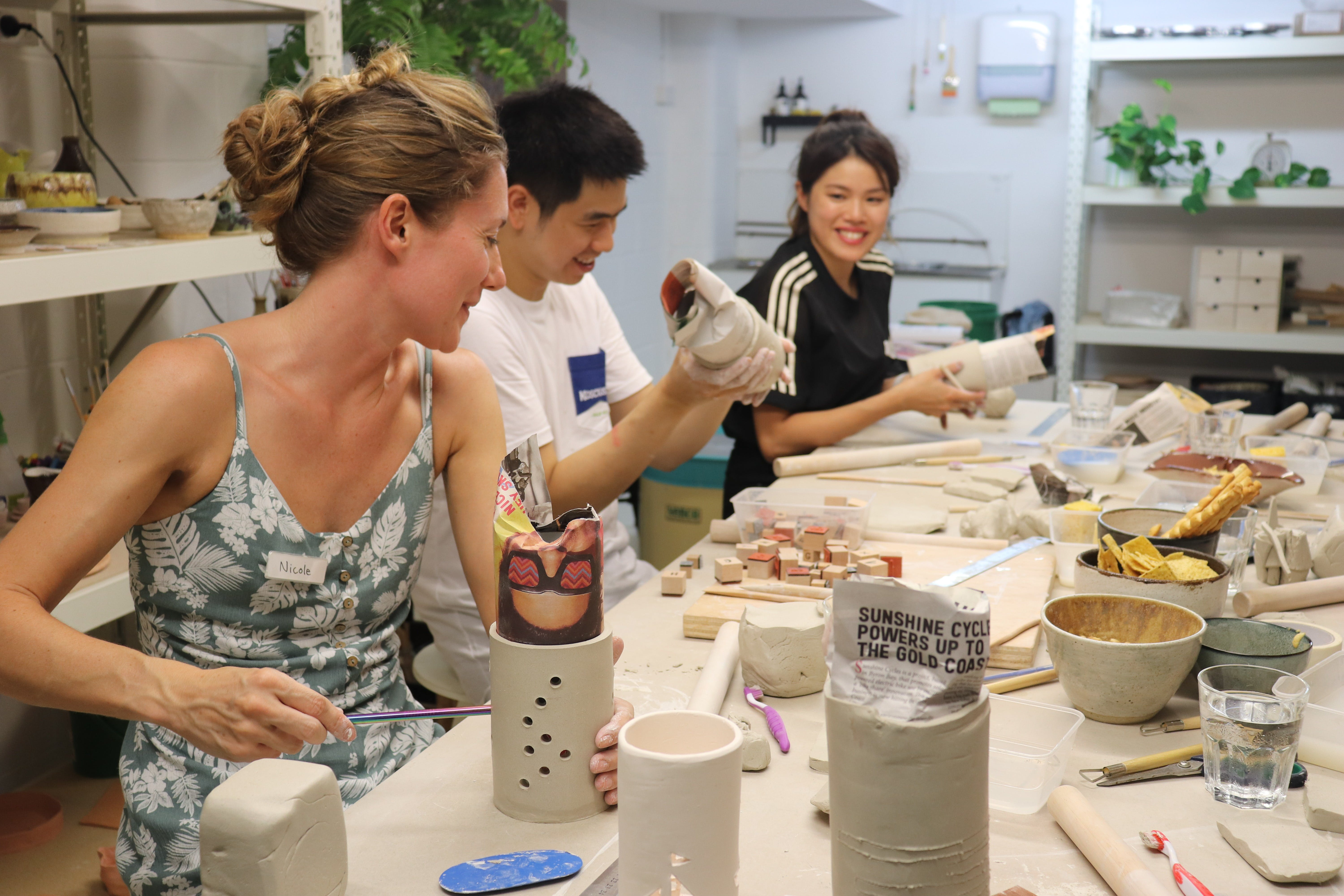 Hand Building Pottery Classes - Port Augusta Accommodation