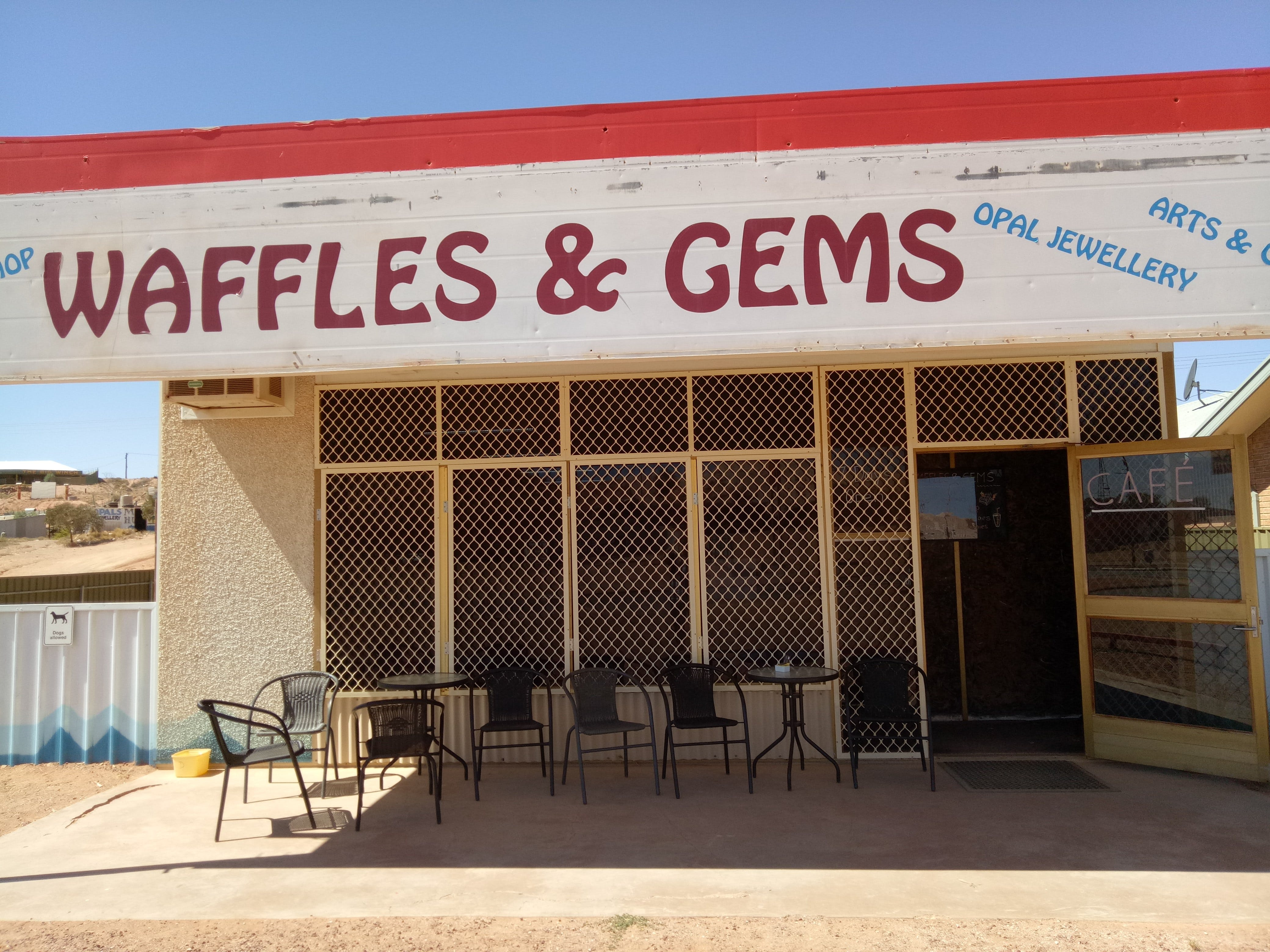 Waffles  Gems - Port Augusta Accommodation
