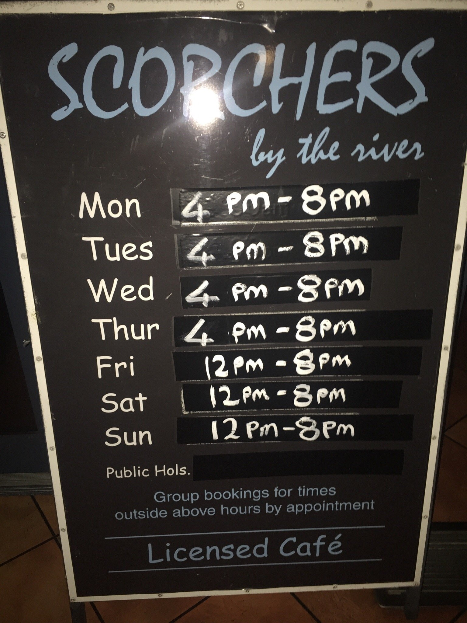 Scorchers by the River Gallery Cafe