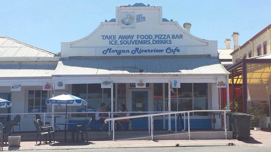 Morgan Riverview Cafe  Takeaway - Port Augusta Accommodation