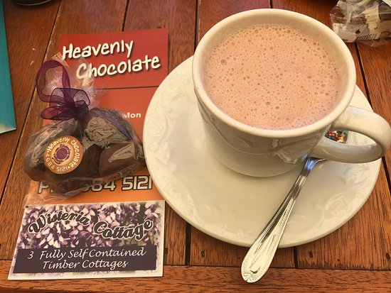 Stanthorpe's Heavenly Chocolate at Wisteria Cottage - Port Augusta Accommodation