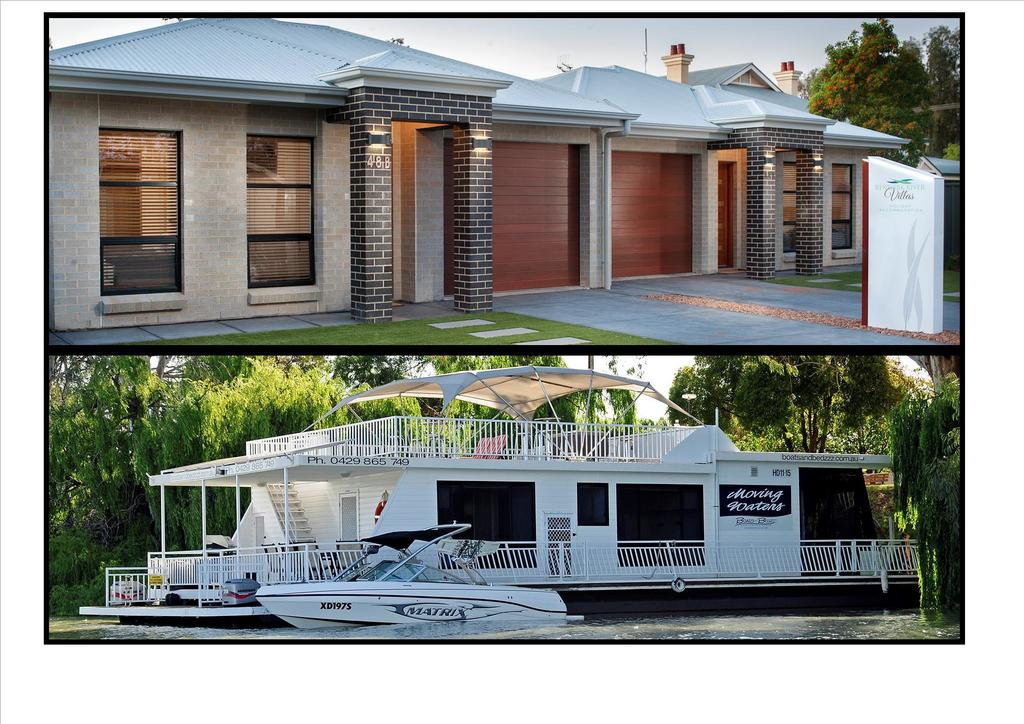 Renmark River Villas and Boats  Bedzzz - Port Augusta Accommodation